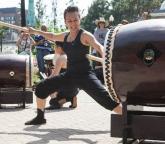 Raging Asian Women Taiko Drummers
